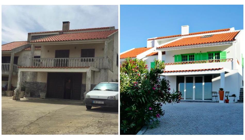 Renovation ola onda guesthouse ericeira portugal