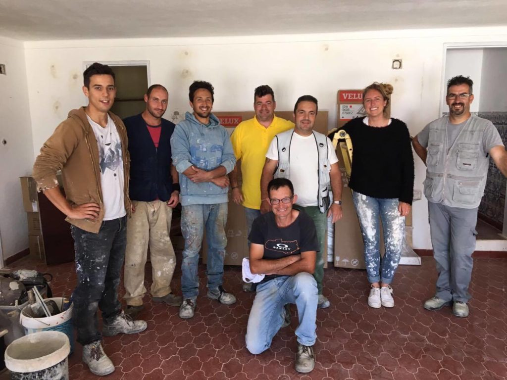 rebuilding guesthouse team