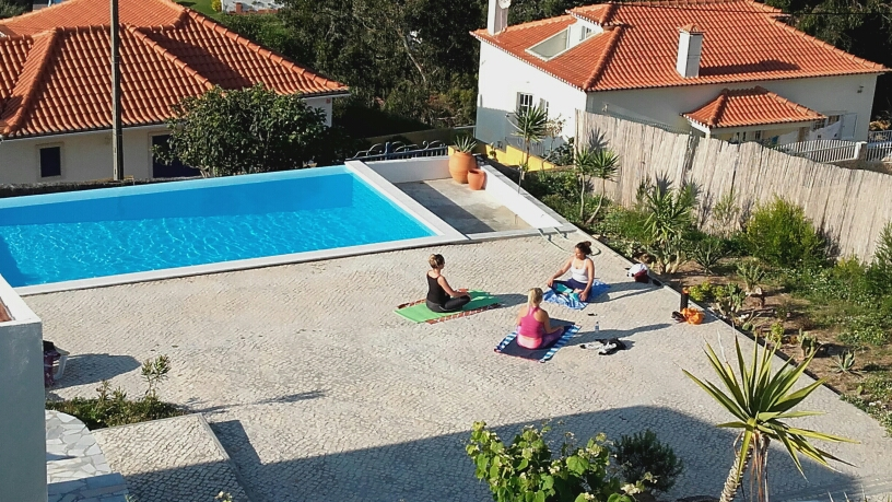 private yoga class ericeira