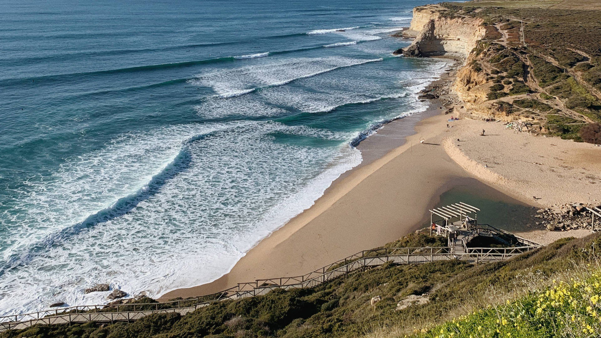 weather in ericeira- winter